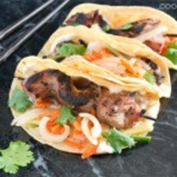Banh Mi Tacos on the Grill