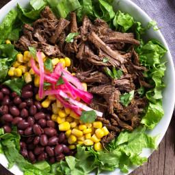 Barbacoa Beef Bowls - Slow Cooker Method