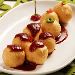 Barbecue Chicken Balls