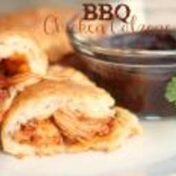 Barbecue Chicken Calzones