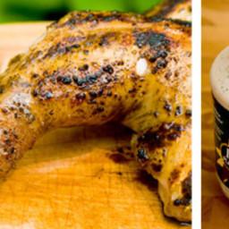 Barbecue Chicken with White Sauce Recipe