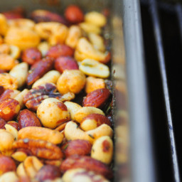 Barbecue: Smoked and Spiced Nuts Recipe