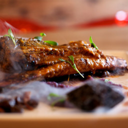 Barbecued Beef Ribs
