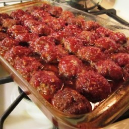 Barbecued Meat Balls