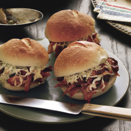 Barbecue Pulled-Turkey Sandwiches