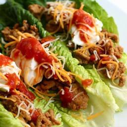 Bariatric Romaine Lettuce Tacos