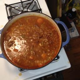 Barley and Beef Soup