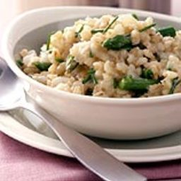 Barley-Asparagus Risotto with Balsamic Vinegar (4)
