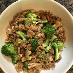 Barley, Wild Rice, Chicken & Asparagus Bowl