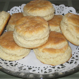 Basic Baking Powder Biscuits (Modified for Stand Mixers)