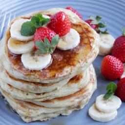 Basic Buttermilk Pancakes