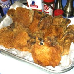 Basic Fried Pork Chops