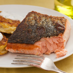 Basic Seared Salmon Fillet