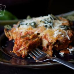 Basil Eggplant Parmesan