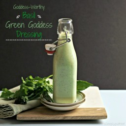 Basil Green Goddess Dressing