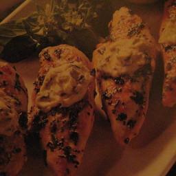 Sheila's Basil Grilled Chicken