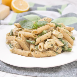Basil Pesto Chicken Pasta