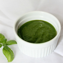 Basil Pesto Without Nuts