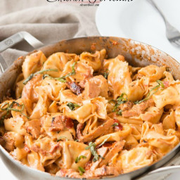 Basil Sun Dried Tomato Chicken Tortellini