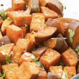 Basil Sweet Potatoes