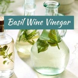 Basil Wine Vinegar