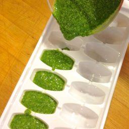 Basil Pesto Recipe + Tips for Freezing
