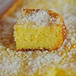 Basseema ~ Egyptian Coconut Cake