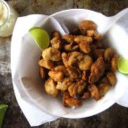 Battered Garlic Chips (paleo, AIP, vegan)