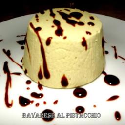 Bavarese al pistacchio
