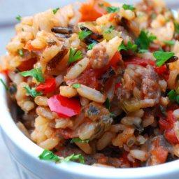 Bayou Dirty Rice