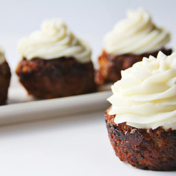 BBQ Bacon Cheddar Meatloaf Cupcake and Mashed Potato Frosting