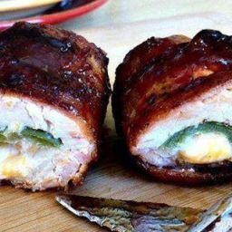 BBQ Bacon Chicken w/Jalapeno