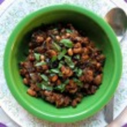 BBQ Baked Black Eyed Peas