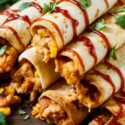 BBQ Chicken Taquitos, So Easy & Supremely Satisfying!