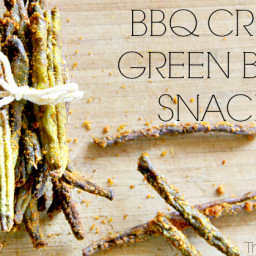 BBQ Flavor Crispy Green Bean Snacks