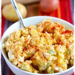 BBQ potato salad