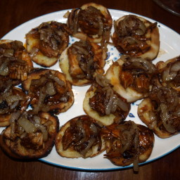 BBQ Pulled Pork Bruschetta