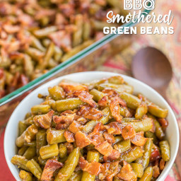 BBQ Smothered Green Beans
