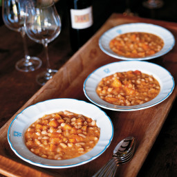 Bean Soup with Winter Squash