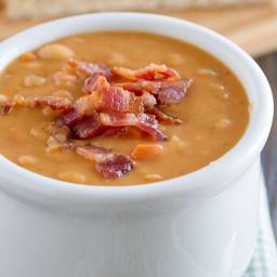 Bean w/Bacon Soup