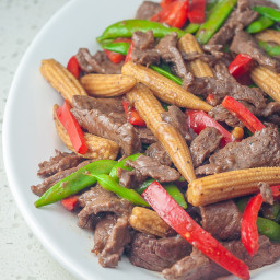 Beef and Baby Corn Stir Fry Recipe