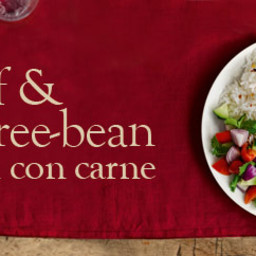 Beef and bean chilli con carne