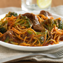 Beef and Broccoli Pasta Skillet