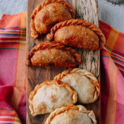 Beef and Cheese Empanadas: Baked OR Fried