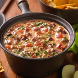 BEEF AND KALE QUESO FUNDIDO