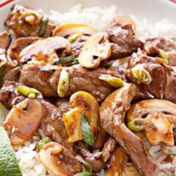 Beef and Mushroom Stir-Fry