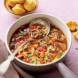 Beef-and-Orzo Soup