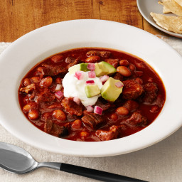 Beef-and-Pork Chili