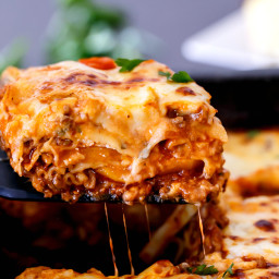 Beef And Pumpkin Lasagna