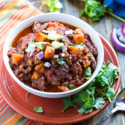 Beef and Sweet Potato Chili